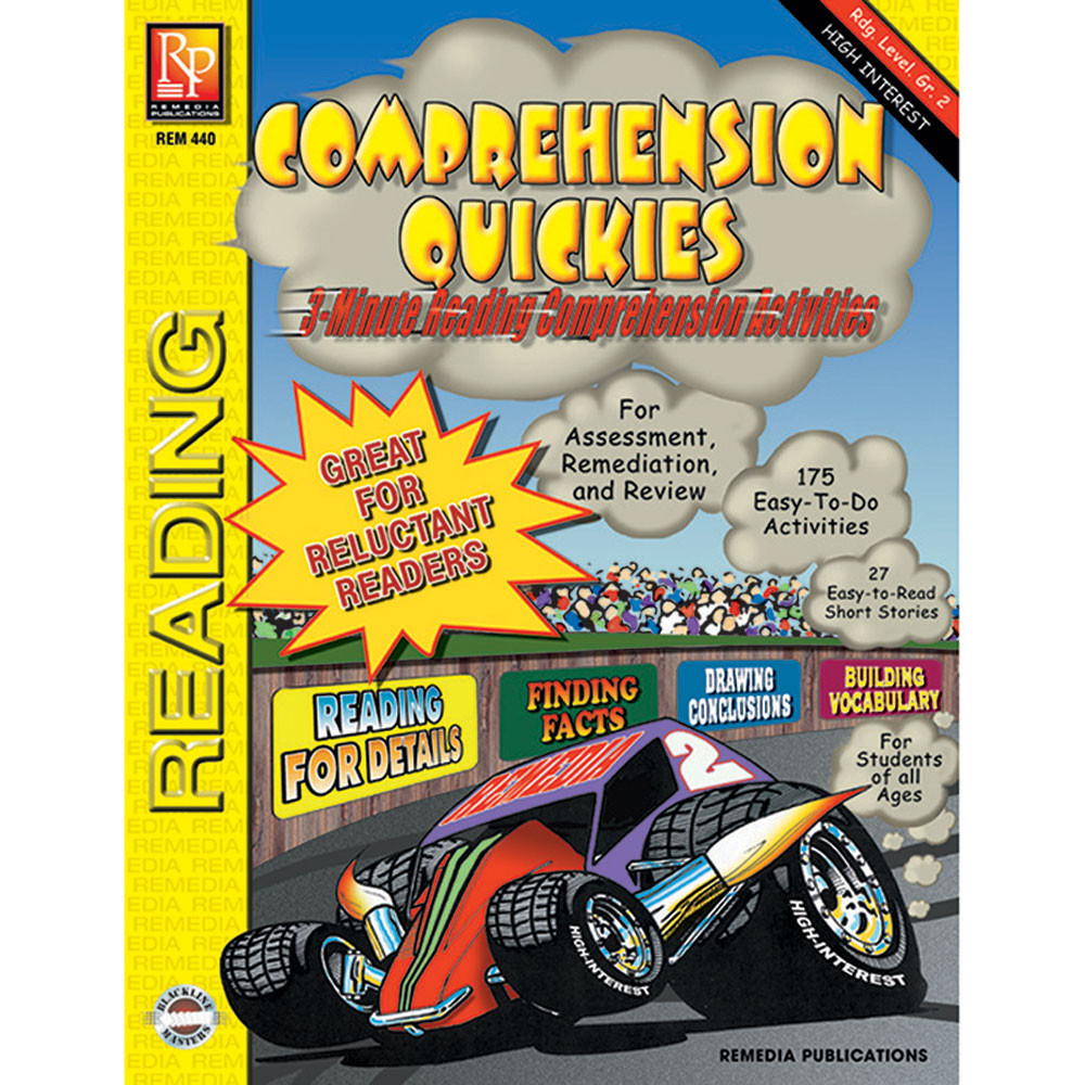 REM440 - Comprehension Quickes Reading Level 2 in Comprehension
