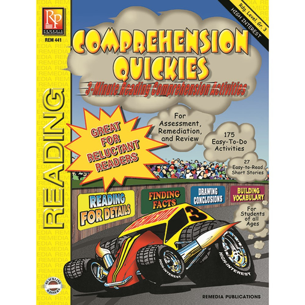REM441 - Comprehension Quickes Reading Level 3 in Comprehension