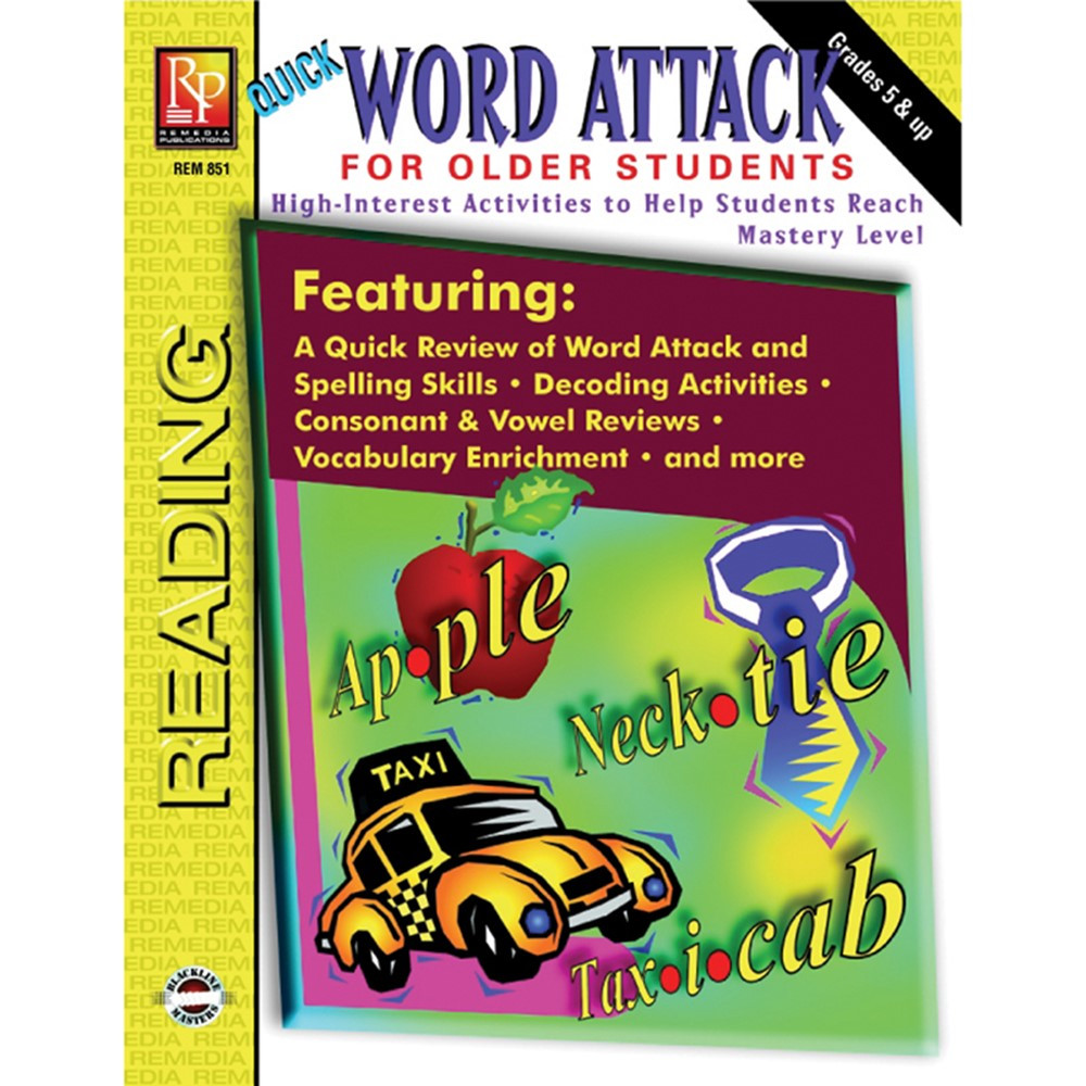 REM851 - Word Attack For Older Students in Word Skills