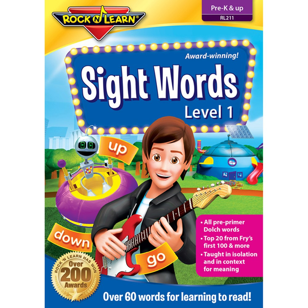 RL-211 - Sight Words Dvd in Sight Words