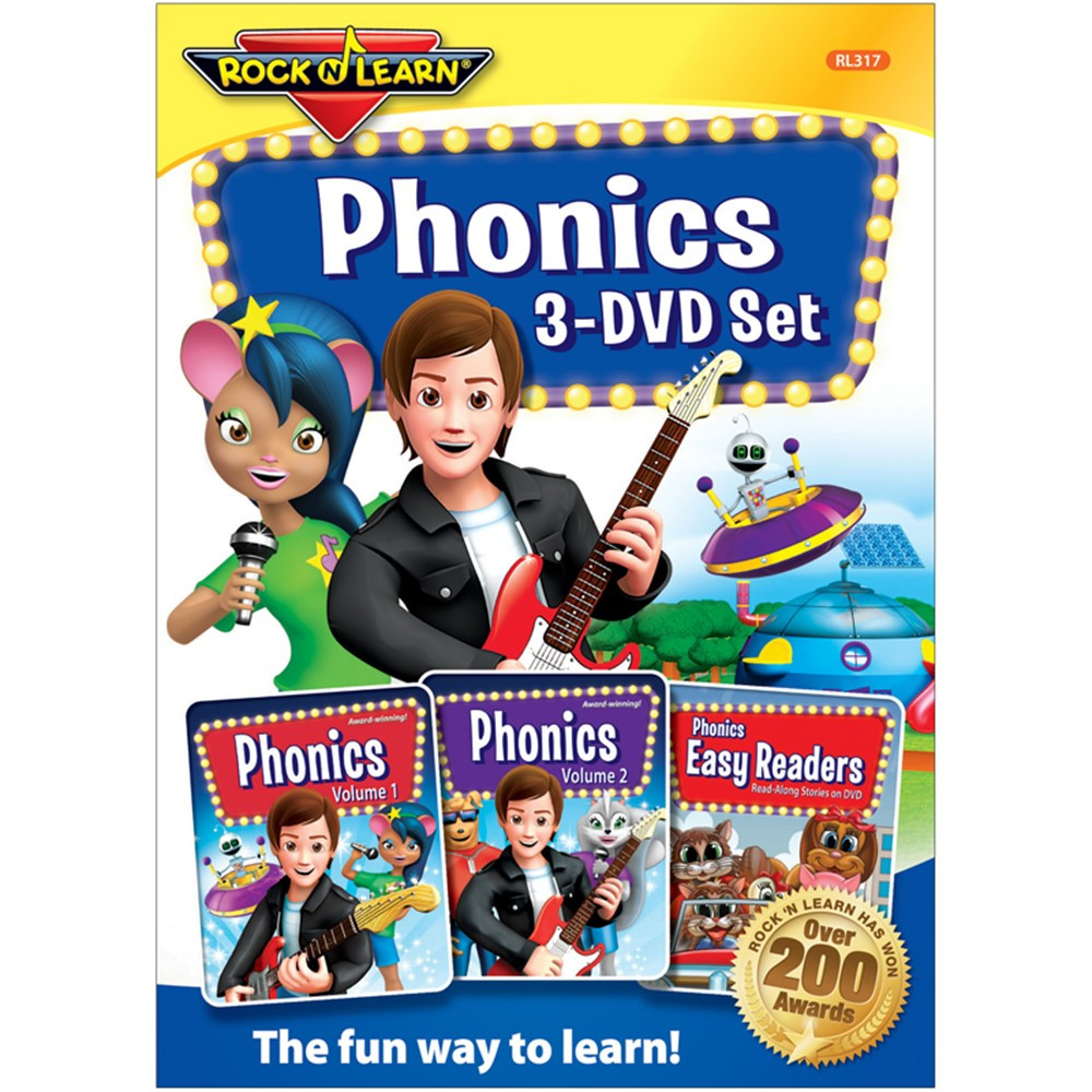 Rock N Learn: Phonics (Vol. 1) | Dove Family Friendly ...