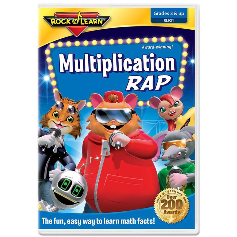 RL-921 - Multiplication Rap On Dvd in Dvd & Vhs