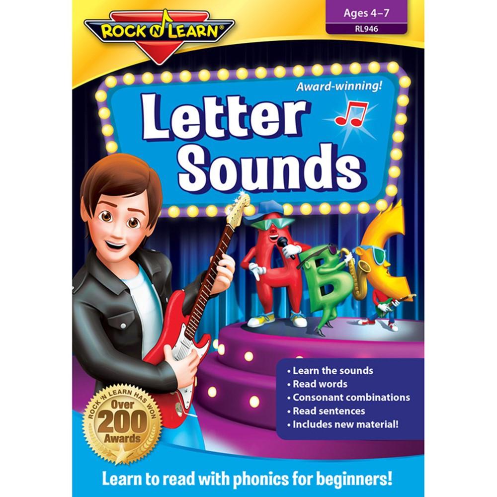 RL-946 - Letter Sounds Dvd in Dvd & Vhs