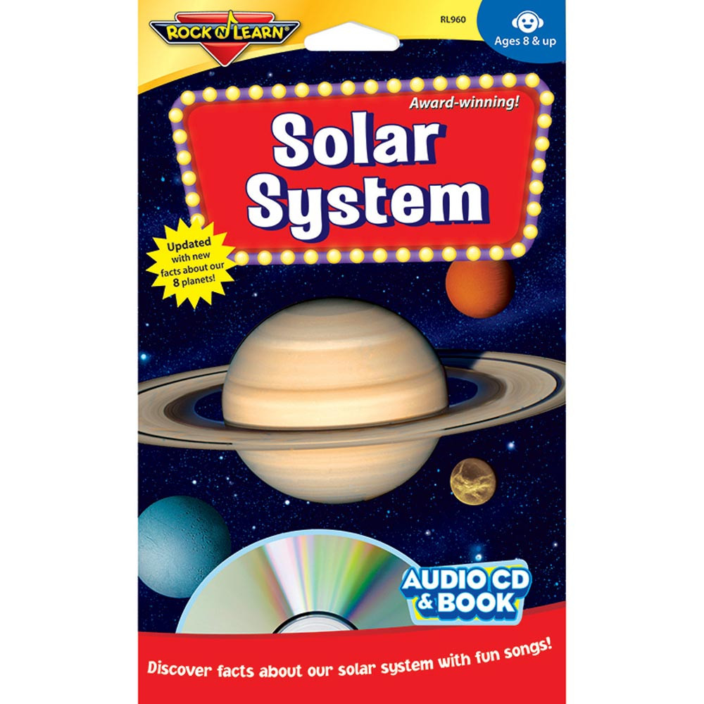 RL-960 - Solar System Cd + Book in Books W/cd