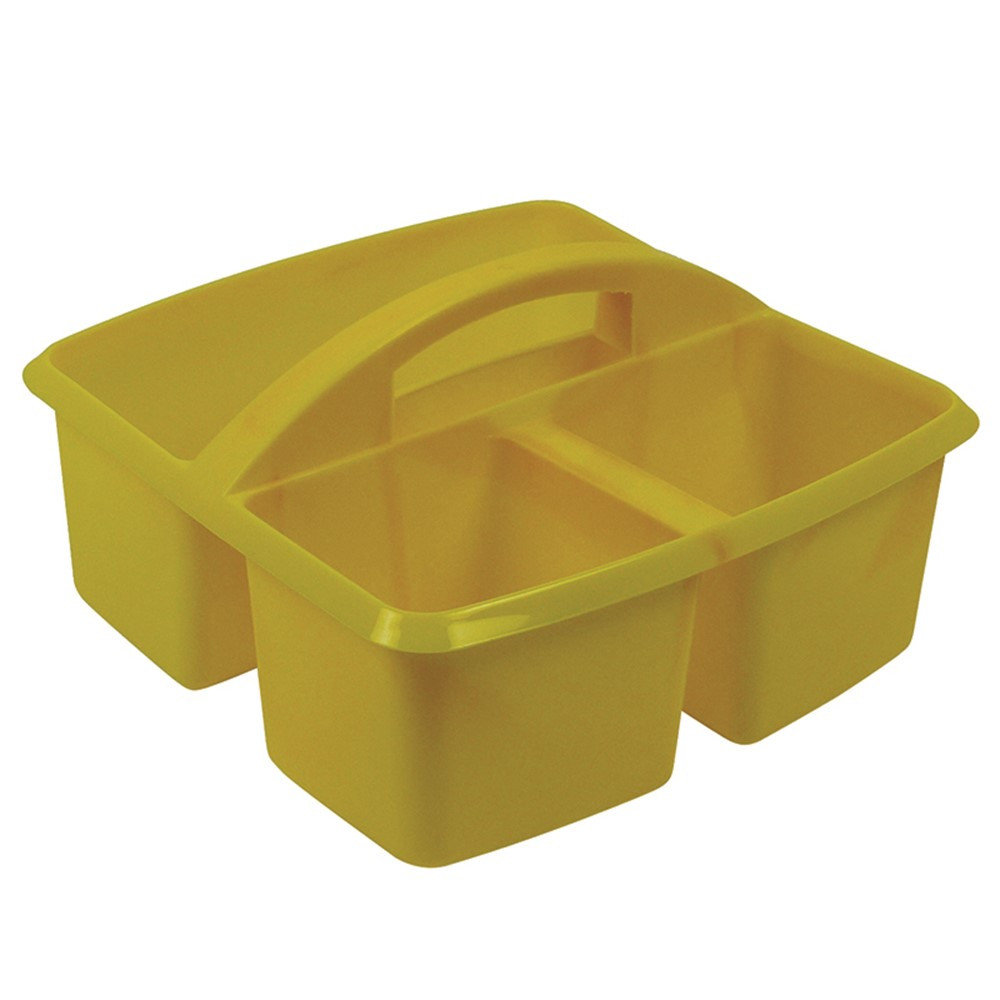 ROM25903 - Small Utility Caddy Yellow in Storage Containers