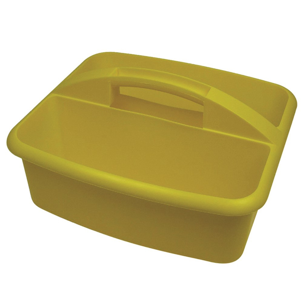 ROM26003 - Large Utility Caddy Yellow in Storage Containers