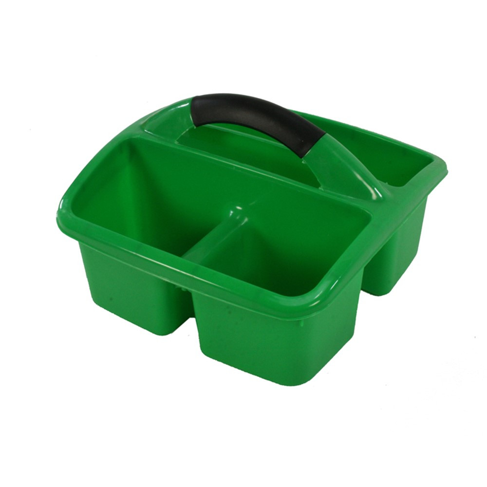 Deluxe Small Utility Caddy, Green - ROM26905 | Romanoff Products | Storage Containers