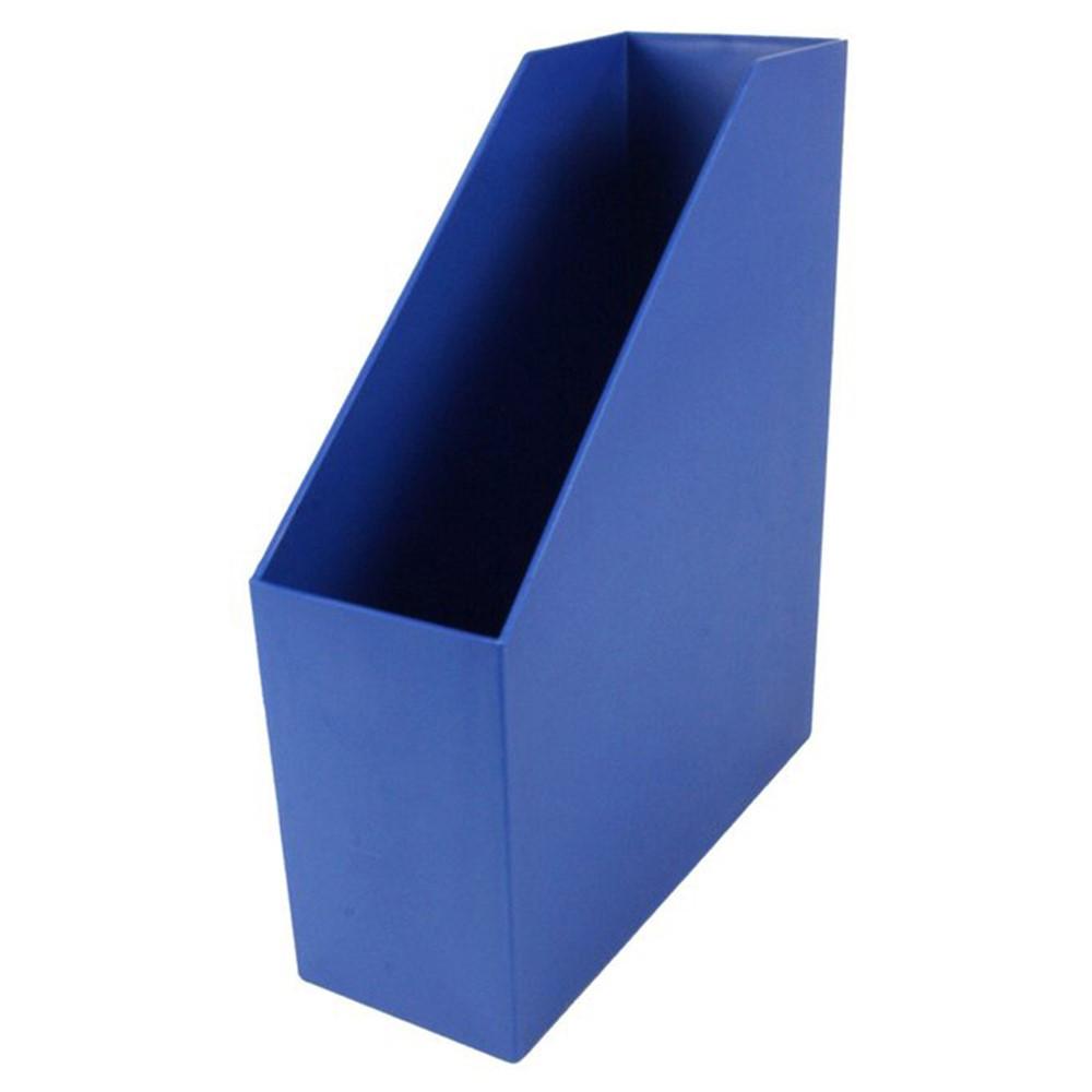ROM77704 - Magazine File Blue 9.5X3.5X11.5 in Storage