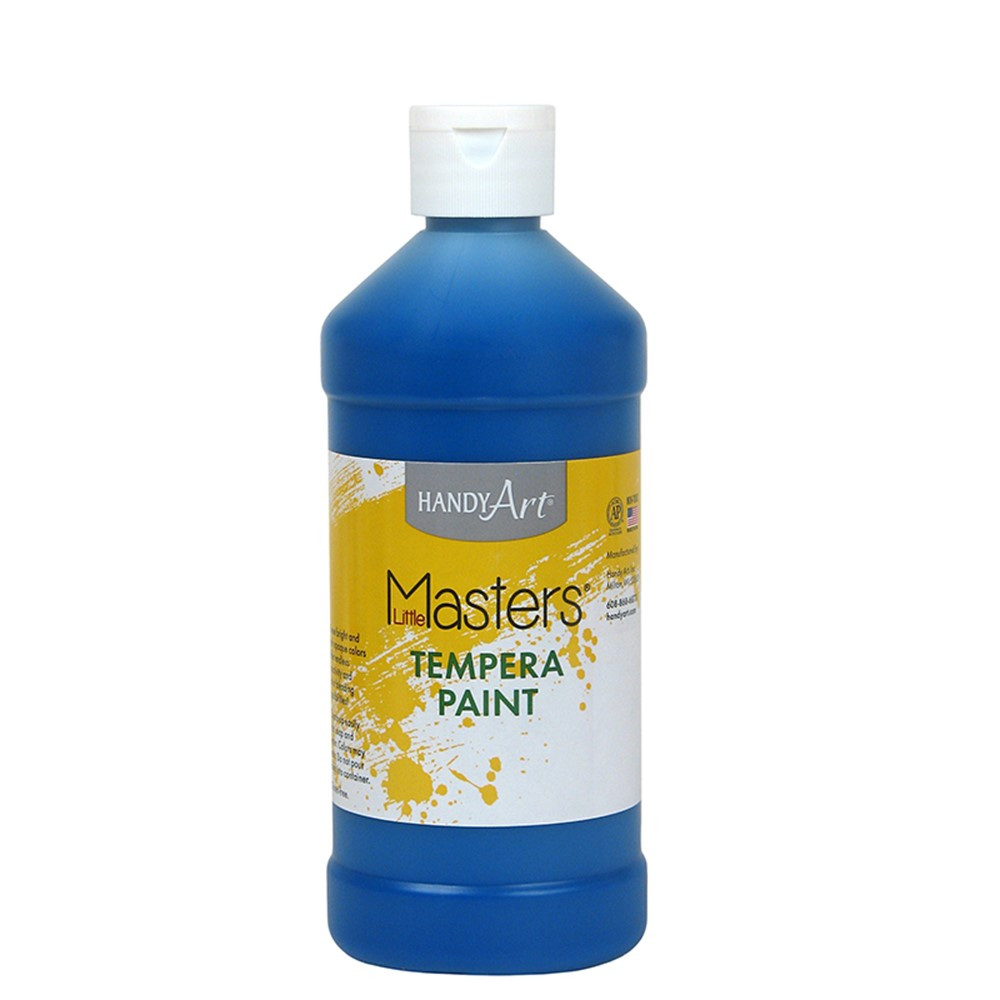 RPC201730 - Little Masters Blue 16Oz Tempera Paint in Paint