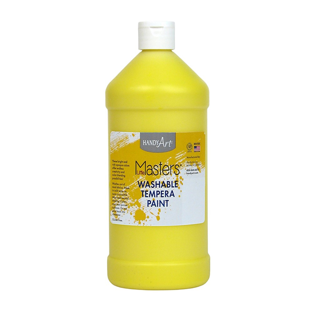 RPC213710 - Little Masters Yellow 32Oz Washable Paint in Paint