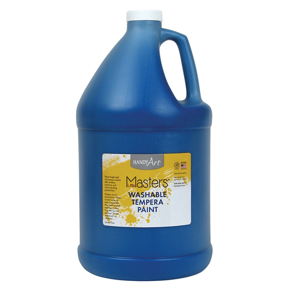RPC214730 - Little Masters Blue 128Oz Washable Paint in Paint