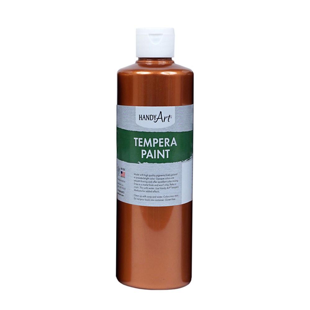 RPC231164 - 16Oz Metallic Copper Tempera Paint Handy Art in General