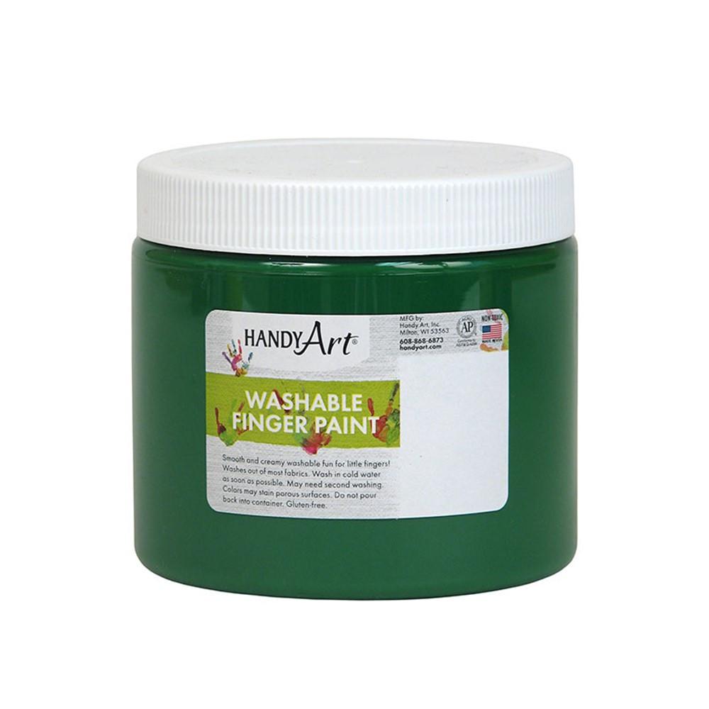 RPC241045 - Handy Art Green 16Oz Washable Finger Paint in Paint