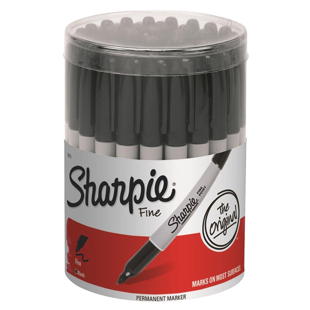 Black 36 Count Fine Point Sharpie Permanent Markers