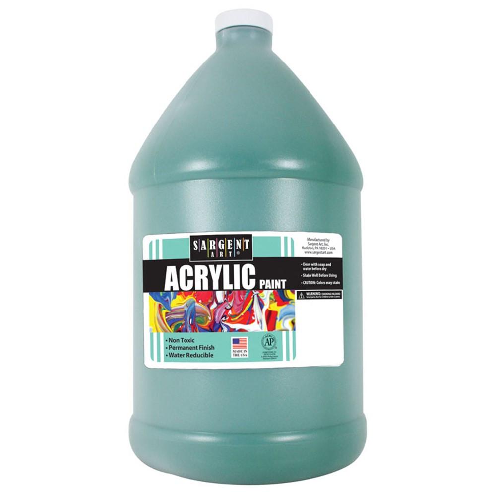 SAR222766 - 64Oz Acrylic - Green in Paint