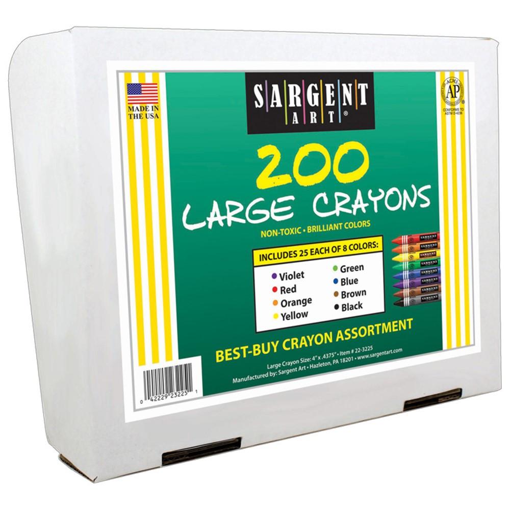 SAR223225 - Best Buy Crayon Assortment 200Pk in Crayons