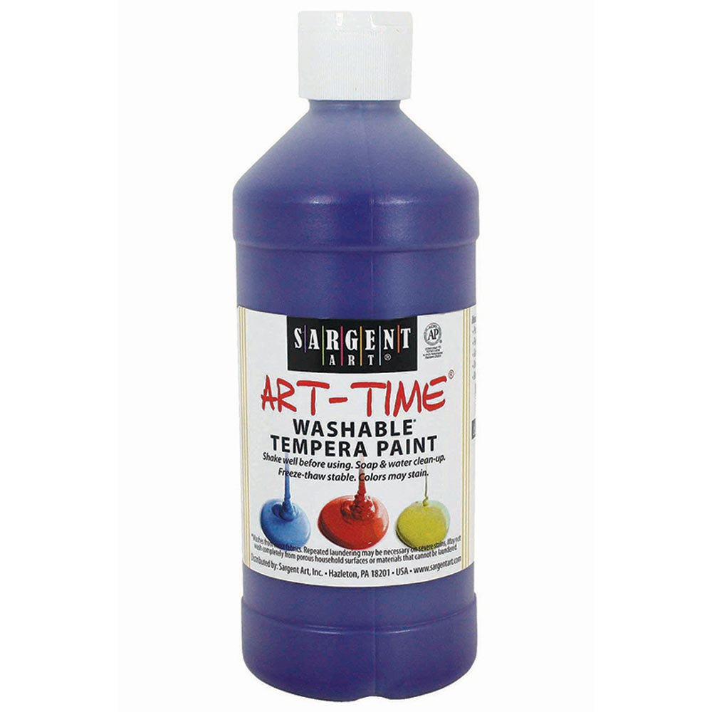 SAR223442 - Purple Washable Tempera 16 Oz in Paint