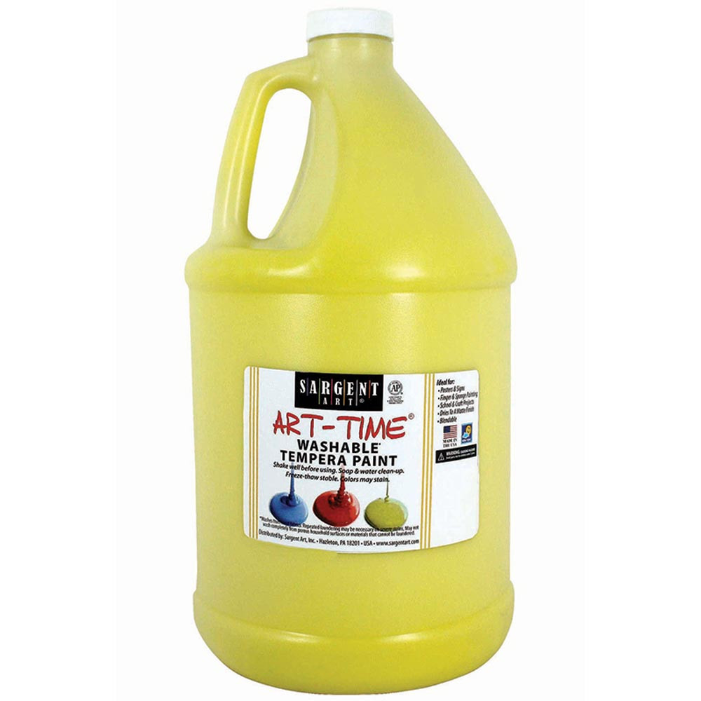 SAR223602 - Yellow Washable Tempera Gal in Paint