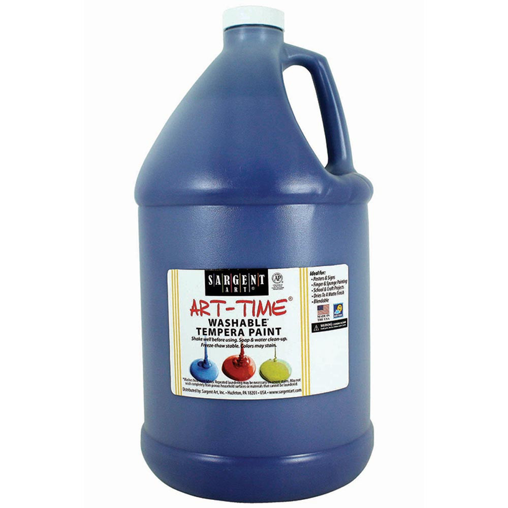 SAR223650 - Blue Washable Tempera Gal in Paint