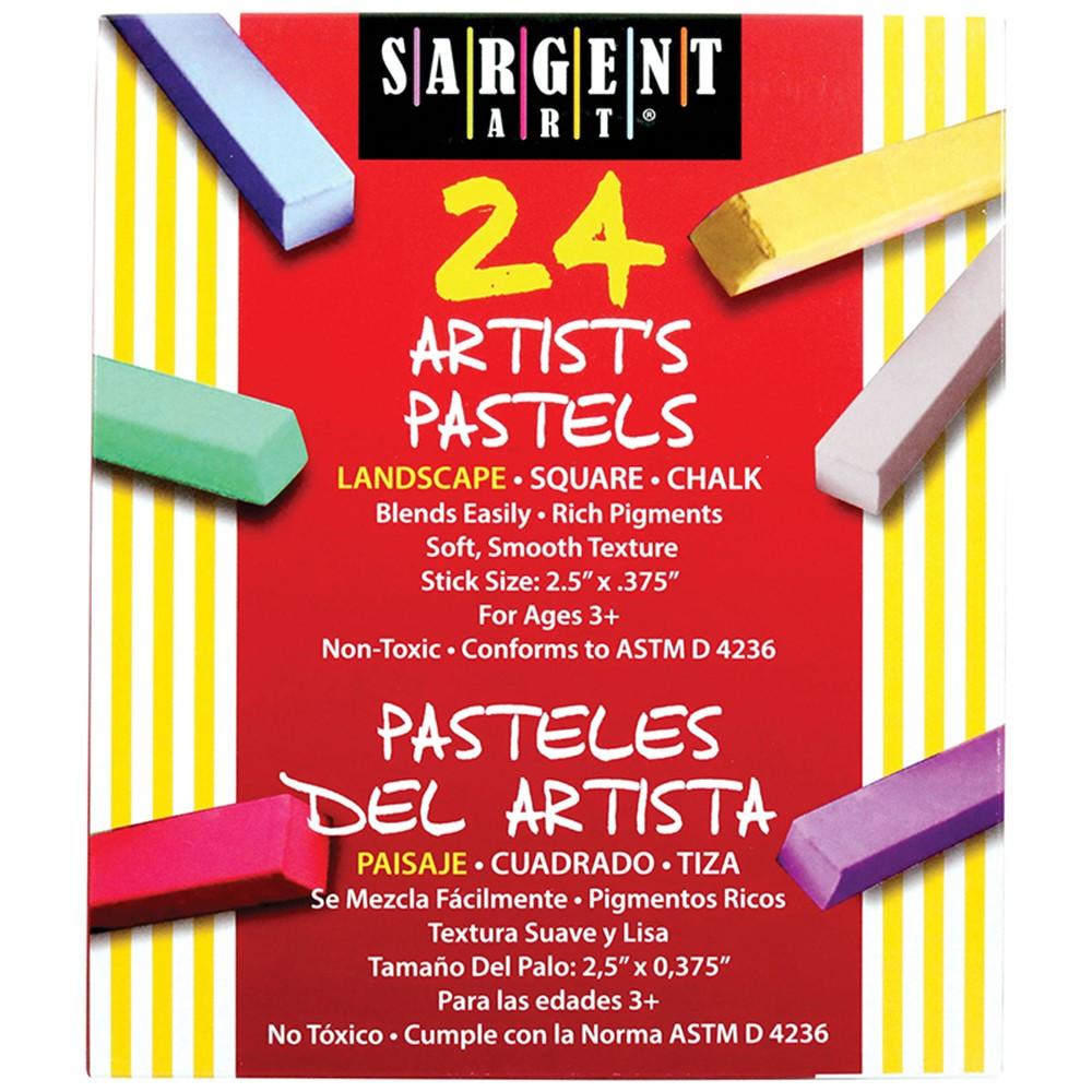 SAR224125 - Sargent Art Sq Chalk 24 Landscape in Chalk