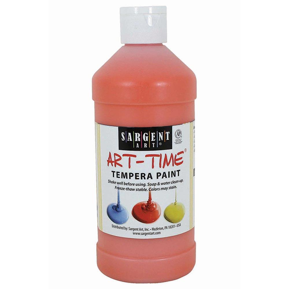 SAR226414 - Orange Tempera Paint 16Oz in Paint