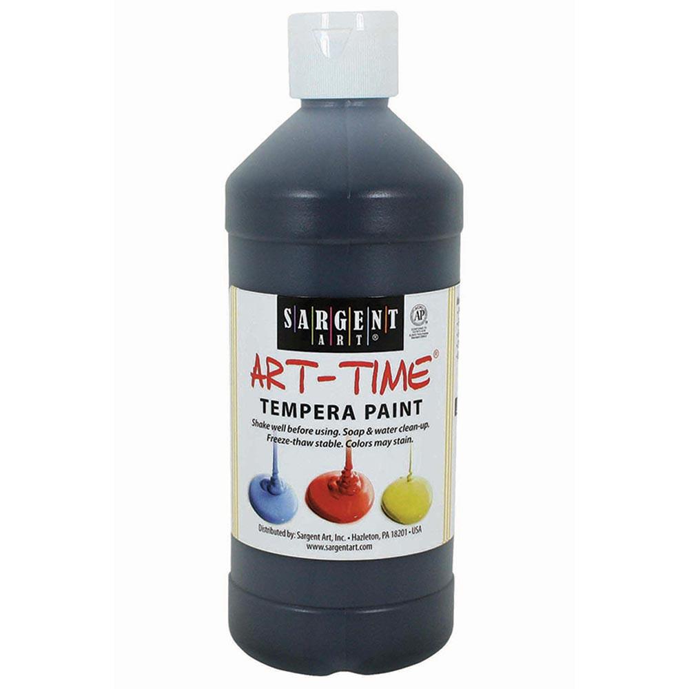 SAR226485 - Black Tempera Paint 16Oz in Paint