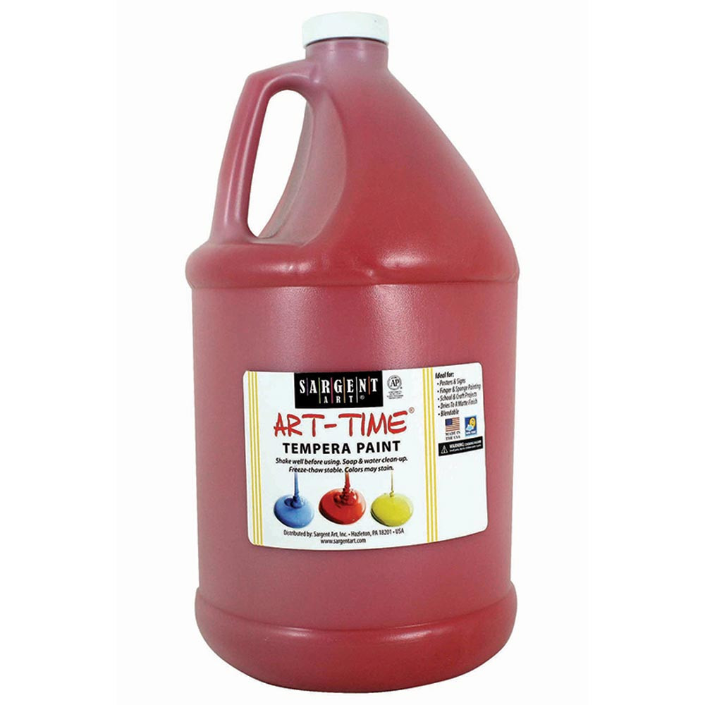 SAR226620 - Red Tempera Paint Gallon in Paint