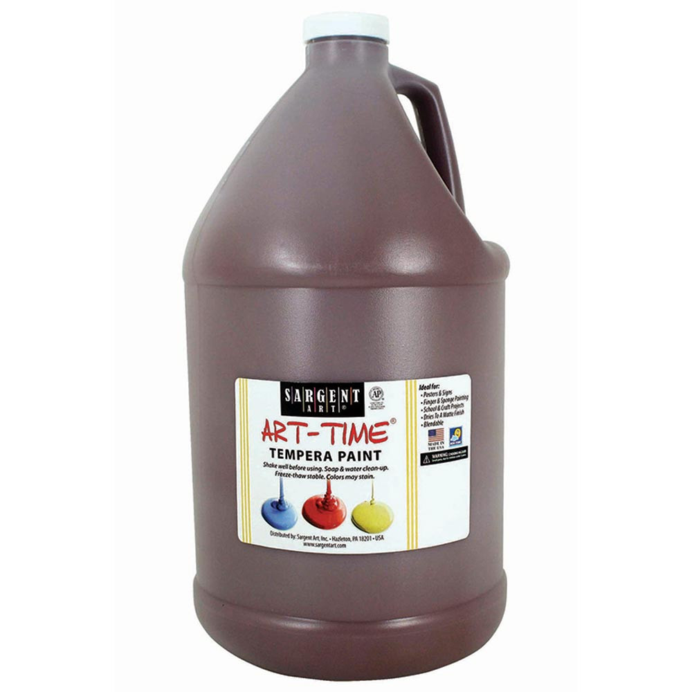 SAR226688 - Brown Tempera Paint Gallon in Paint