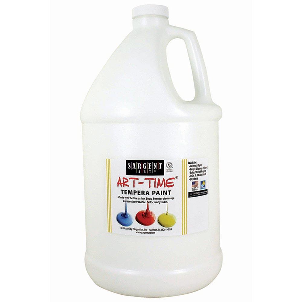 SAR226696 - White Tempera Paint Gallon in Paint