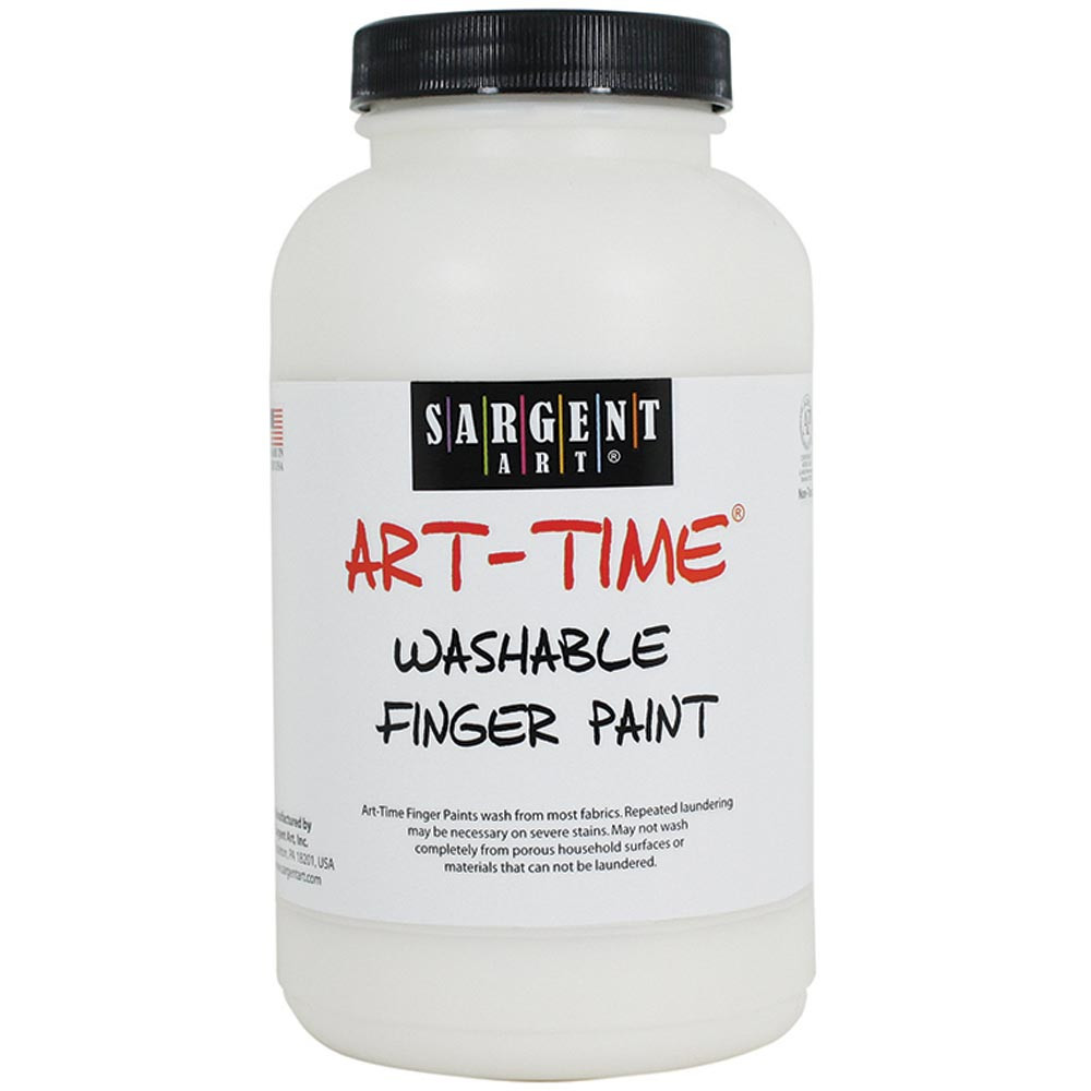 SAR229496 - 16Oz Washable Finger Paint White in Paint