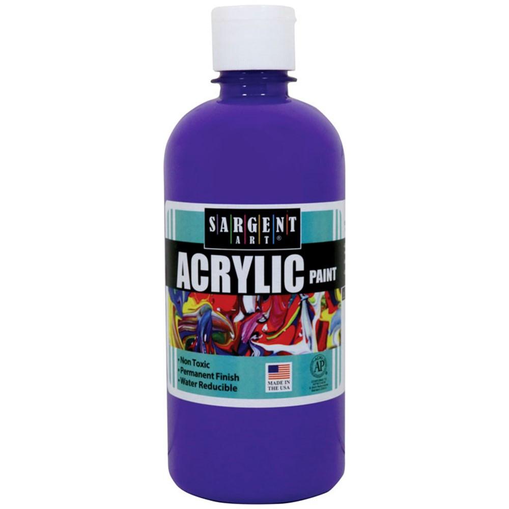 SAR242442 - 16Oz Acrylic Paint - Violet in Paint