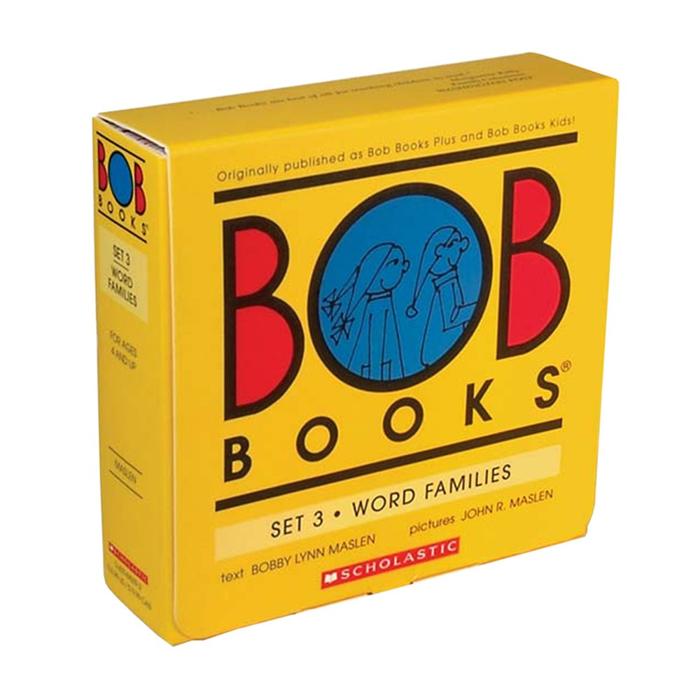 SB-0439845092 - Bob Booksword Family Set Of 3 in Reading Skills
