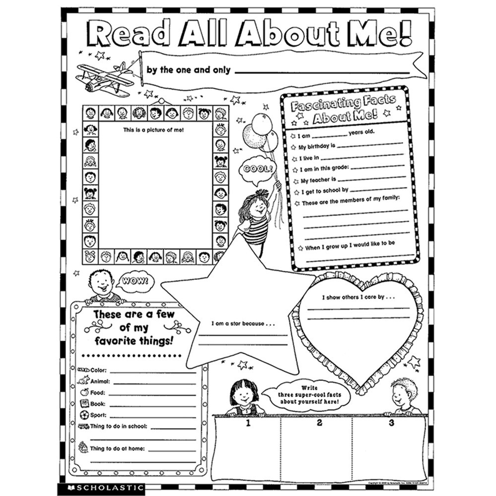 It's just a picture of Current Free Printable All About Me Poster