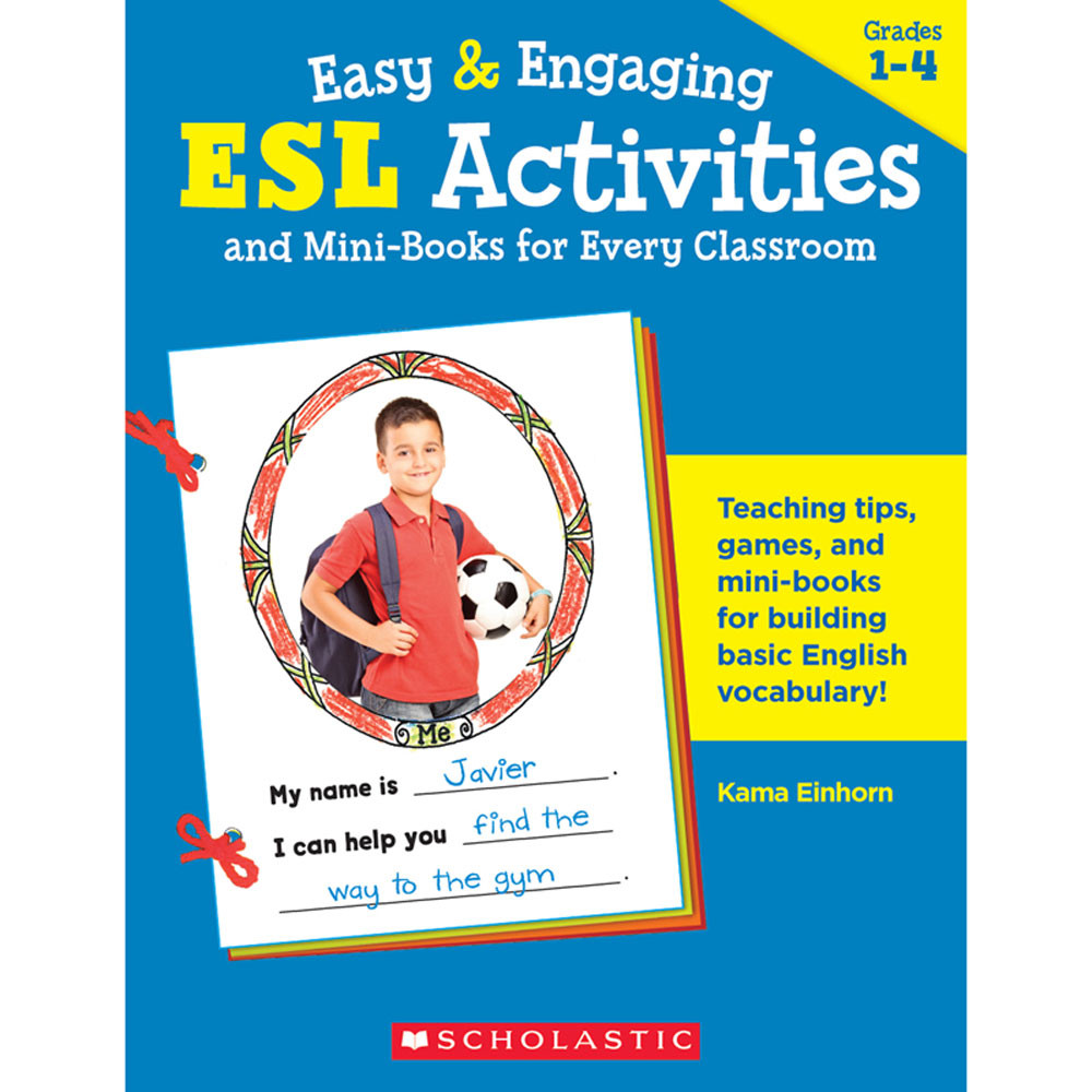 Classroom Ideas Esl ~ Easy engaging esl activities mini books for every