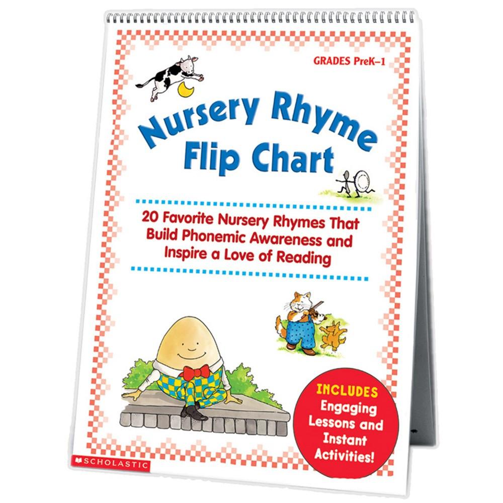 SC-0439513820 - Nursery Rhyme Flip Chart in Classroom Theme