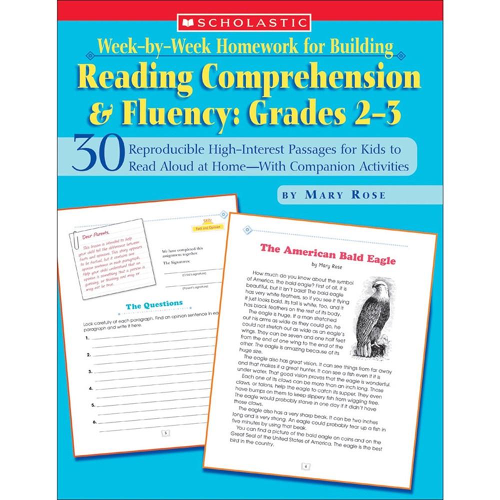 SC-0439517796 - Week-By-Week Homework For Building Reading Comprehension & Fluency Gr in Comprehension