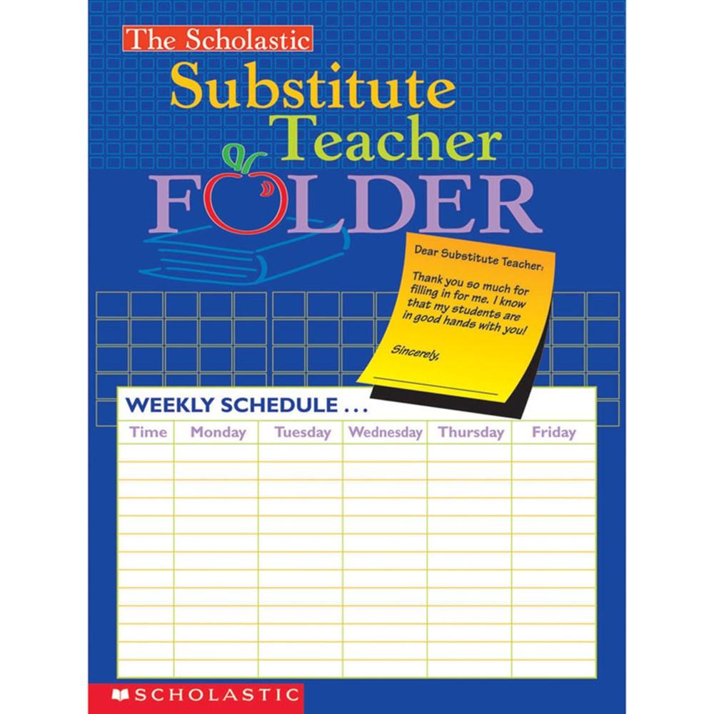 SC-0439546443 - Substitute Teacher Folder in Substitute Teachers
