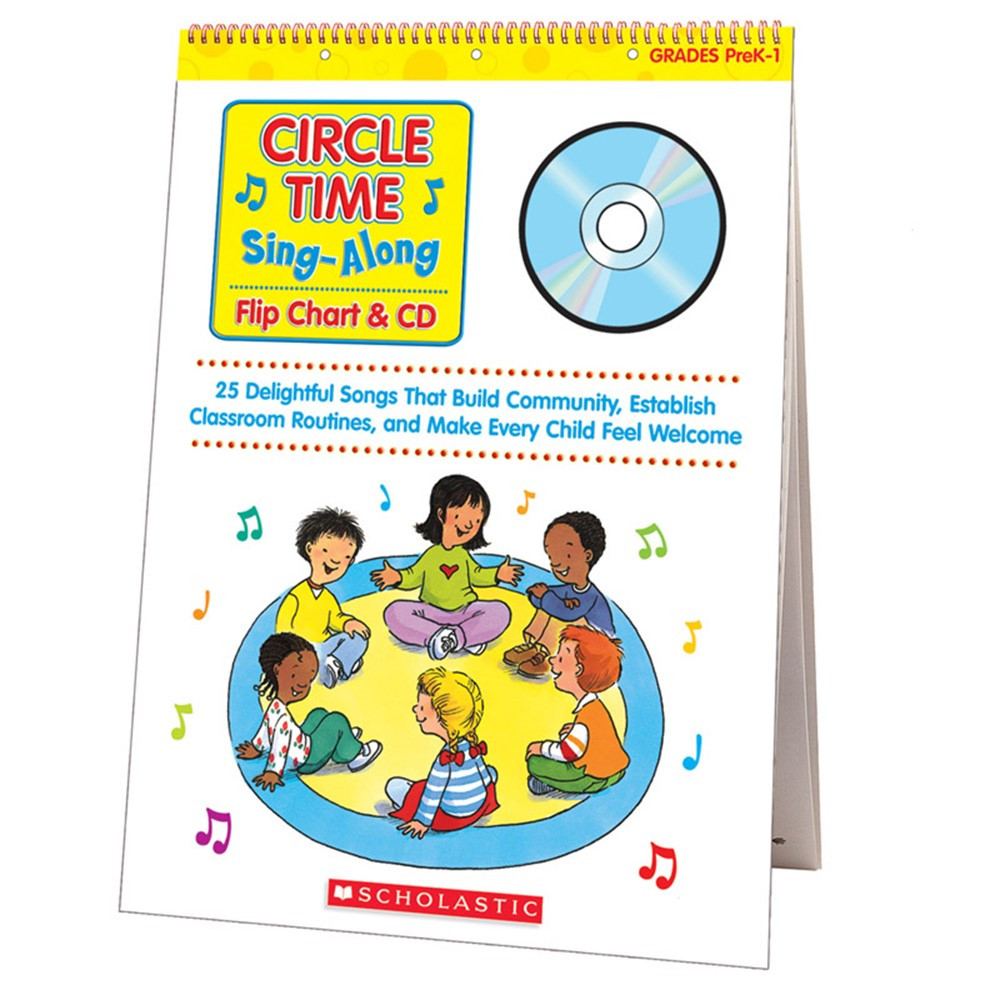 SC-0439635241 - Circle Time Sing Along Flip Chart & Cd in Miscellaneous
