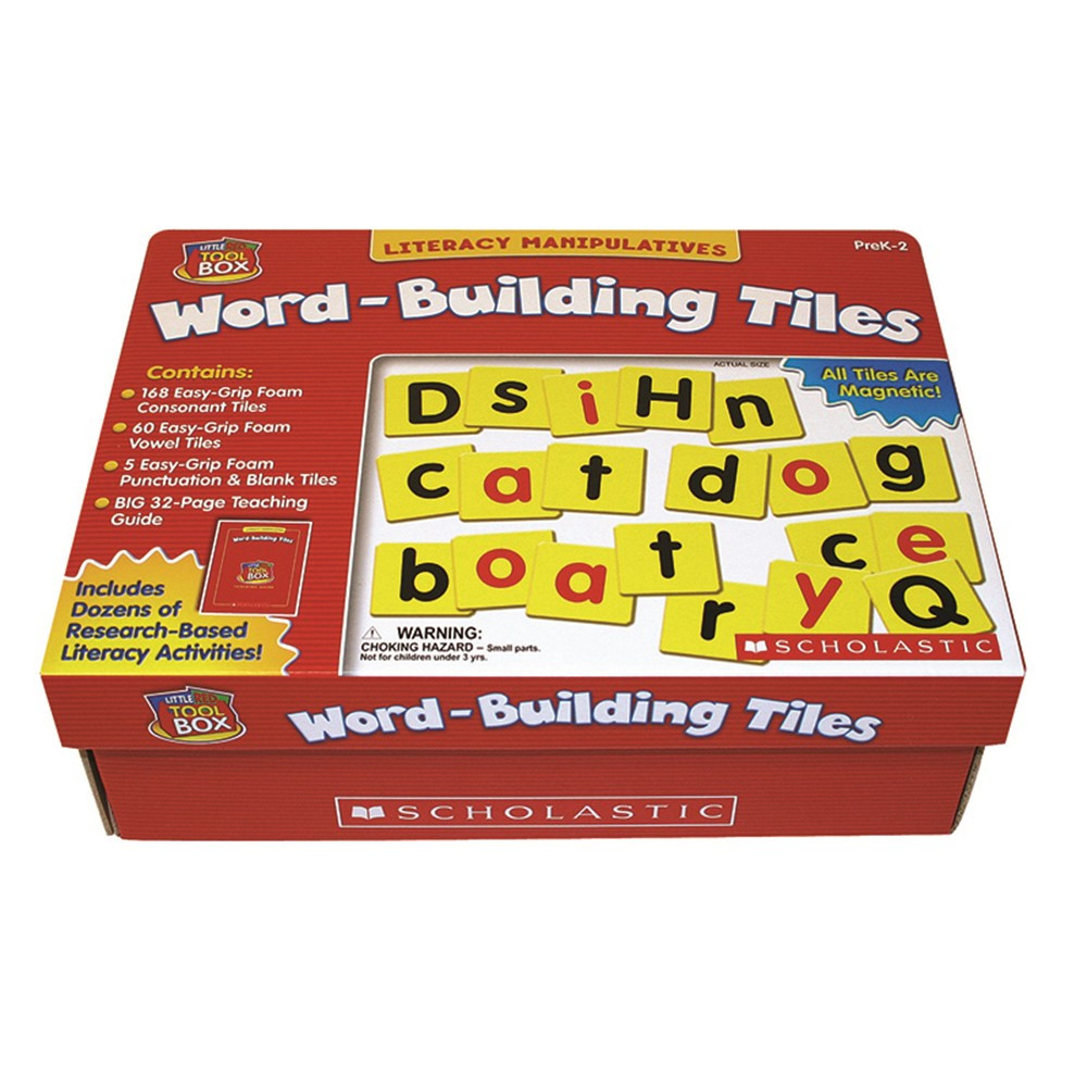 SC-0439838657 - Little Red Tool Box Word Building Tiles in Word Skills