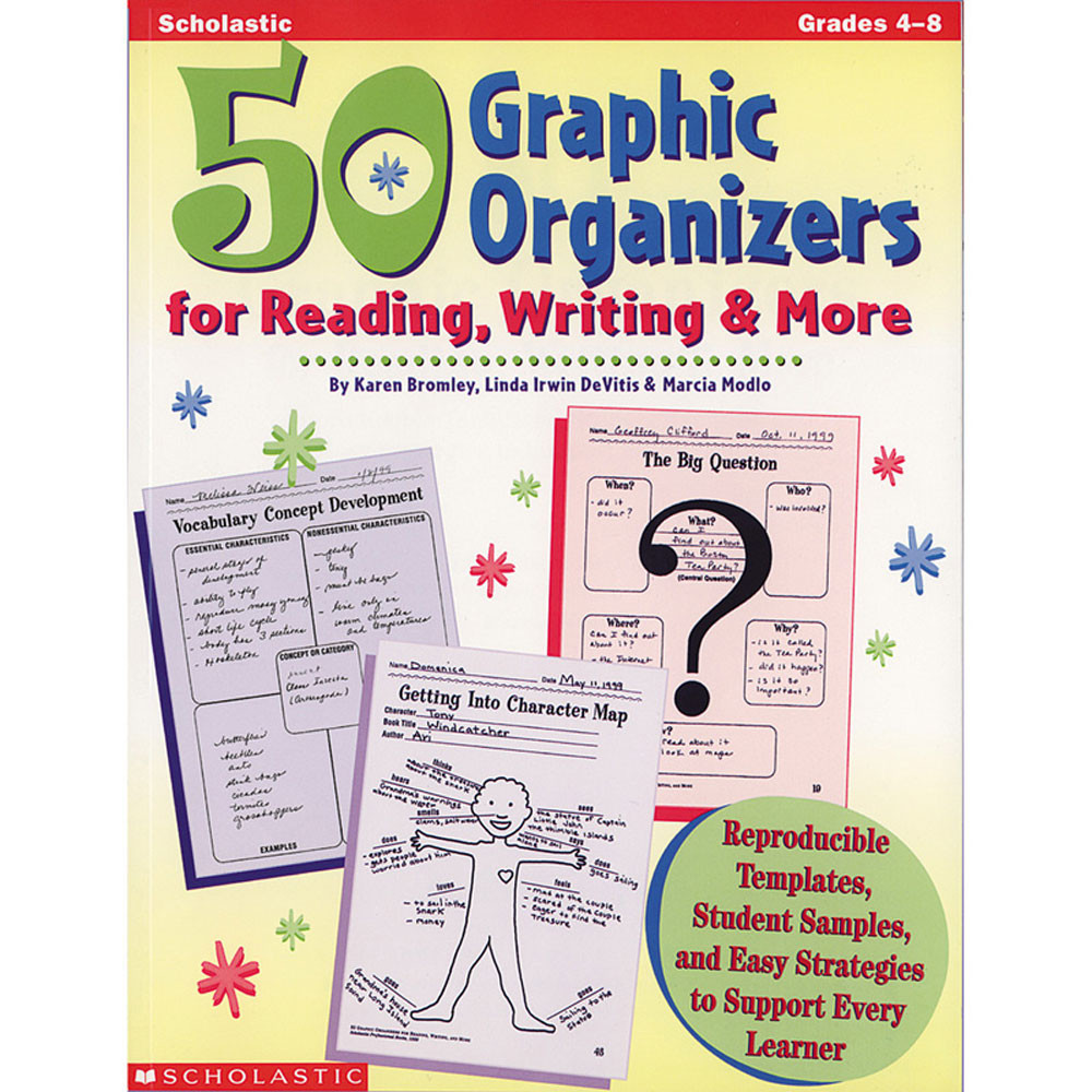 SC-0590004840 - 50 Graphic Organizers For Reading in Graphic Organizers
