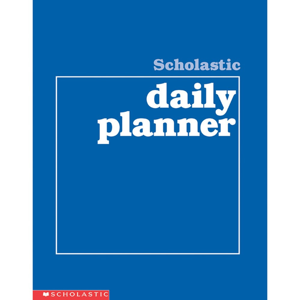 SC-0590490672 - Scholastic Daily Planner Gr K-8 in Plan & Record Books