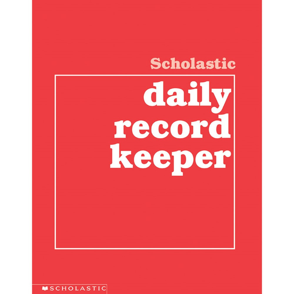 SC-0590490680 - Scholastic Daily Record Keeper Gr K-8 in Plan & Record Books