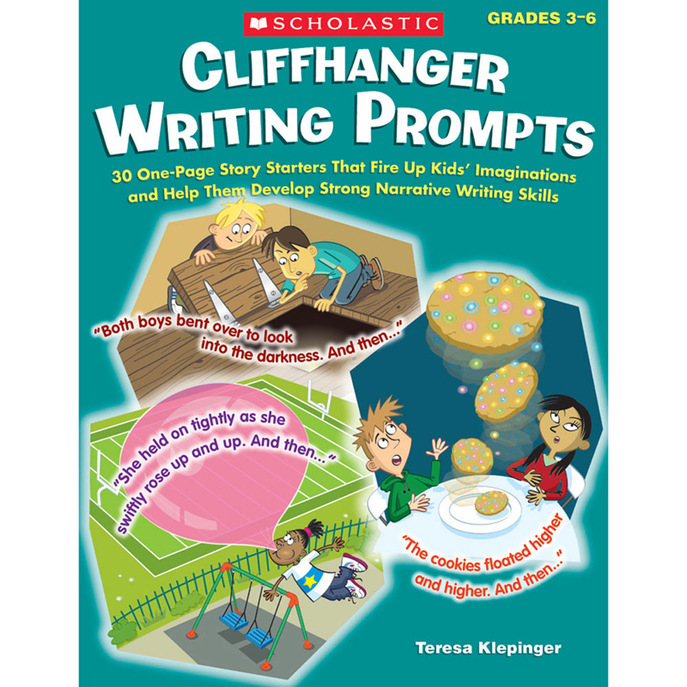 SC-531511 - Cliffhanger Writing Prompts in Writing Skills