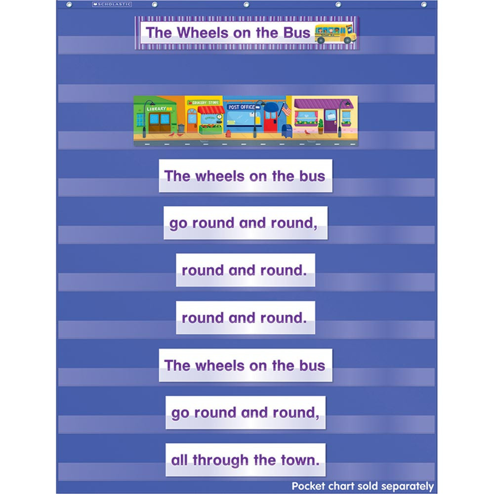 SC-542527 - Favorite Kids Songs Pocket Chart Add Ons in Pocket Charts