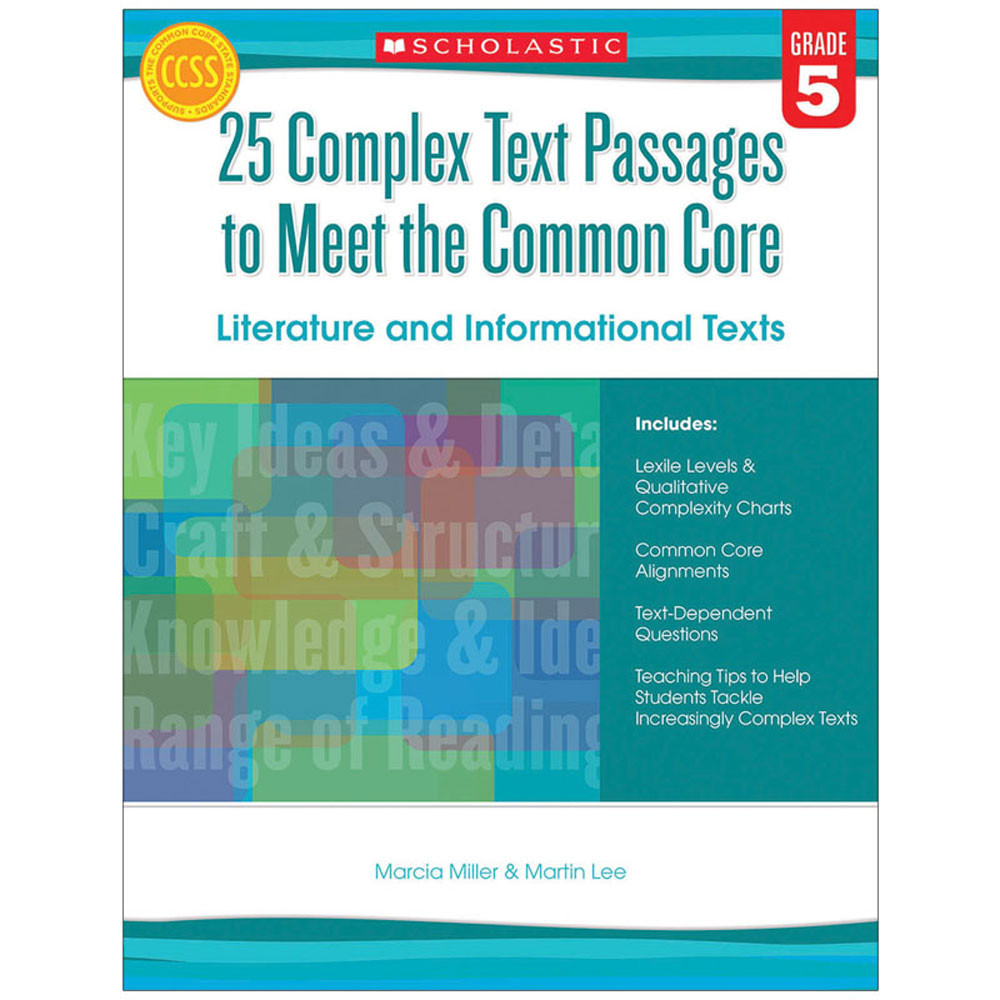 SC-557711 - Gr 5 25 Complex Text Passages To Meet The Cc Literature & Info Text in Leveled Readers
