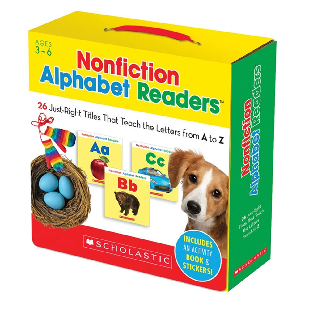 SC-565113 - Nonfiction Alphabet Readers Parent Pack in Class Packs