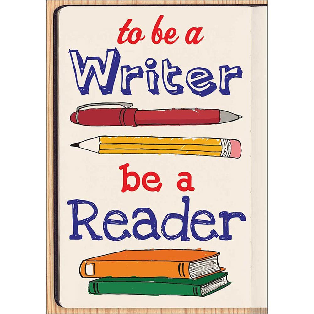 SC-581942 - To Be A Writer Pop Chart in Language Arts