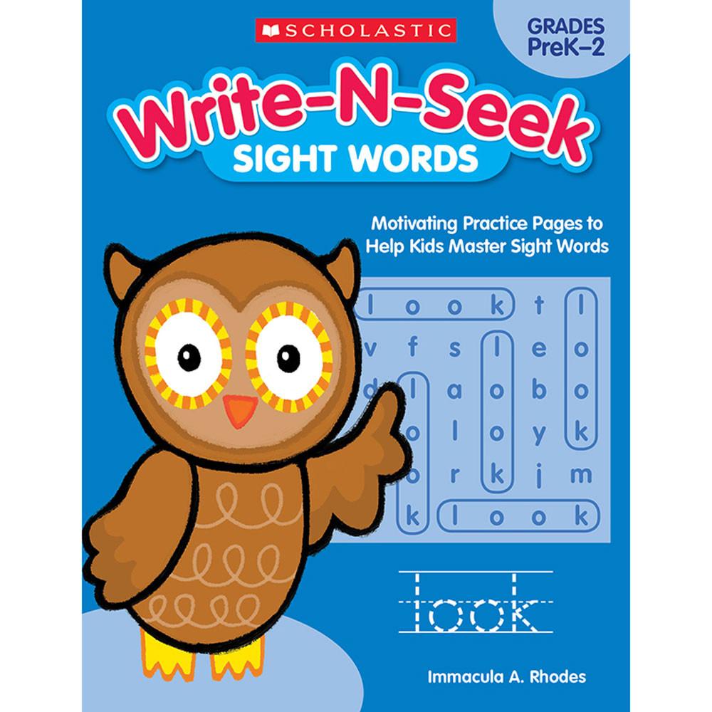SC-818022 - Write N Seek Sight Words in Vocabulary Skills
