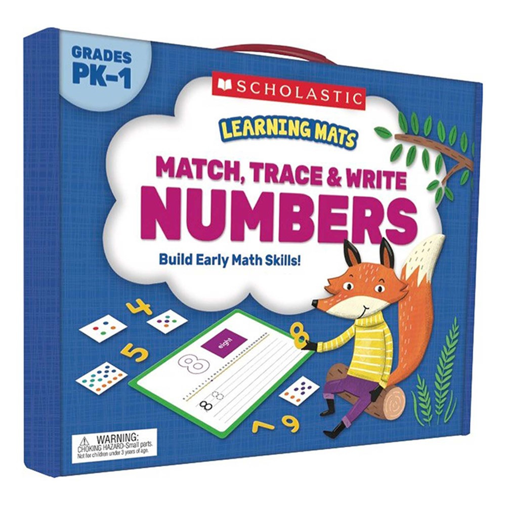 SC-823960 - Match Trace Write Numbers Learning Mats in Mats