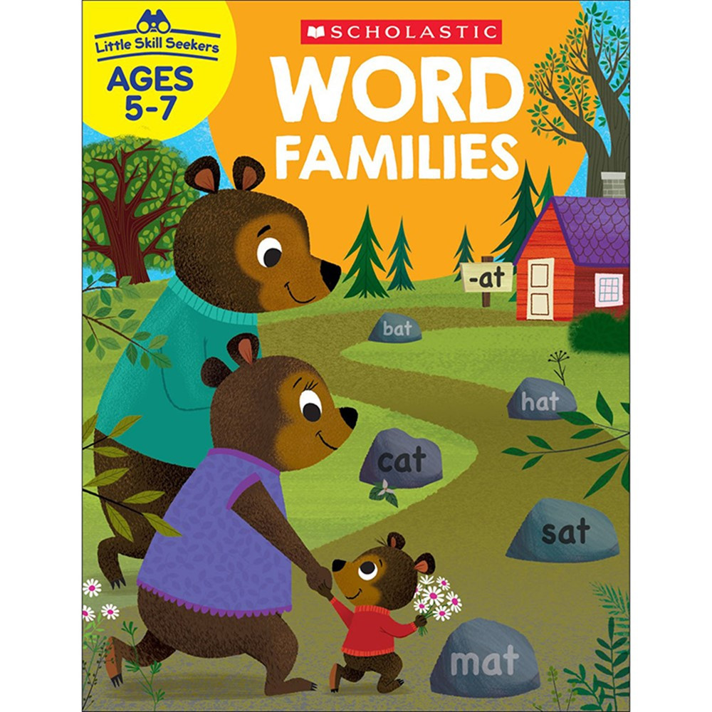 SC-830639 - Little Skill Seekers Word Families in Sight Words